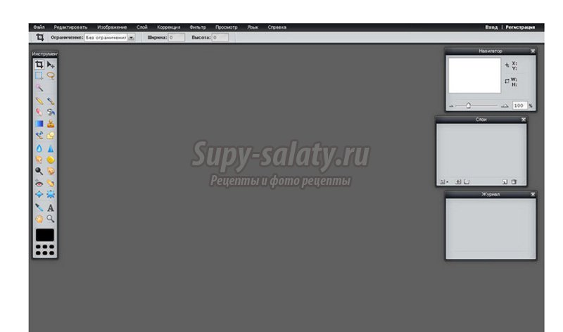 Онлайн фотошоп на русском языке. Редактор фотографий online