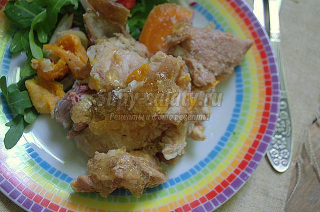 тушёнка из свинины и говядины с курагой и финиками