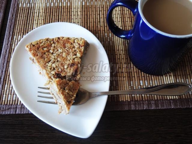 датский овсяный пирог