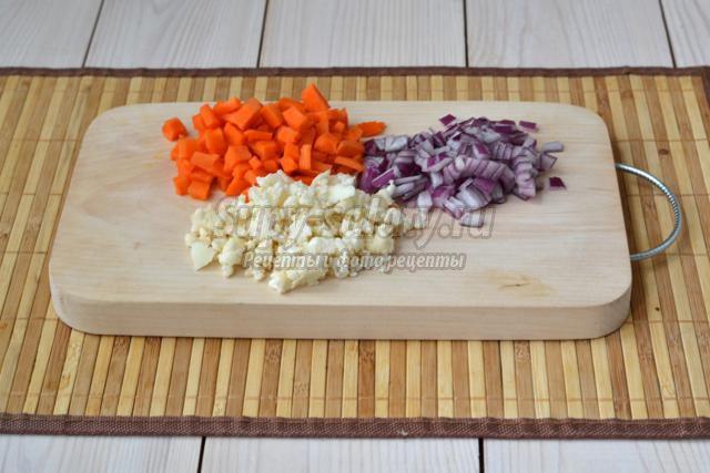 овощные шарики в панировке