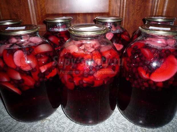 как сделать виноградный компот на зиму