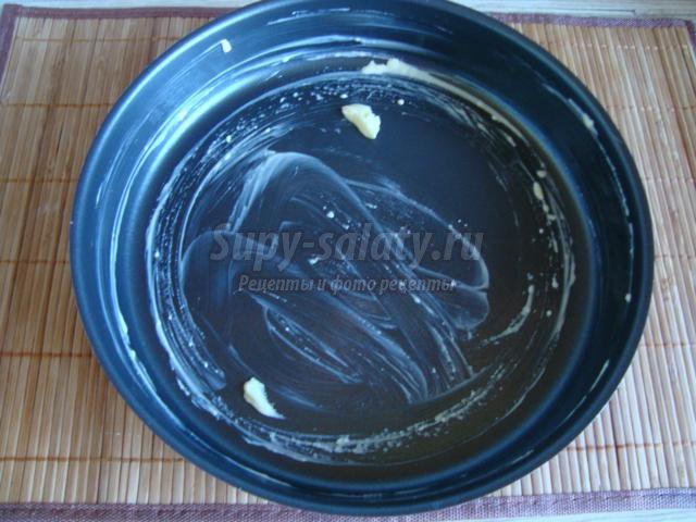 пирог на кефире с ягодами черники