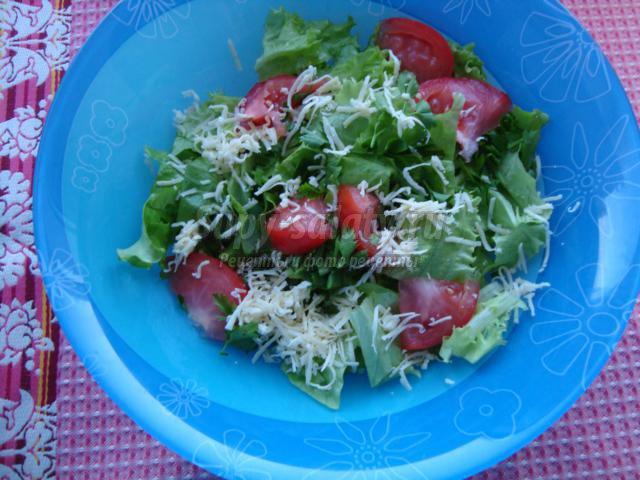 Салат цезарь с крабовым мясом в домашних условиях рецепт