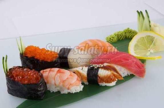 Как приготовить домашние суши? Рецепты нигири-суши и гункан-суши