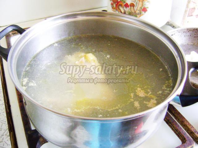 Рассольник с курицей и рисом рецепт пошагово в кастрюле