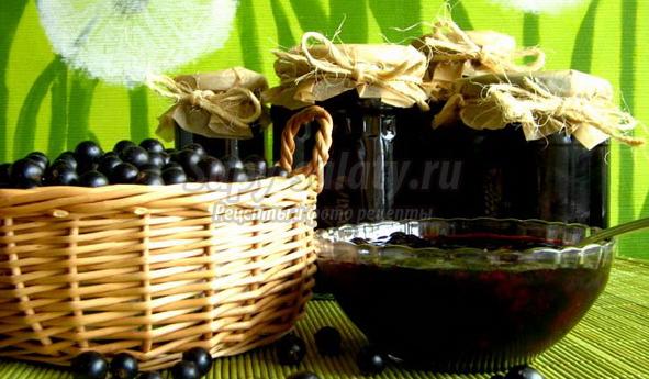 варенье из черной смородины: популярные рецепты с фото
