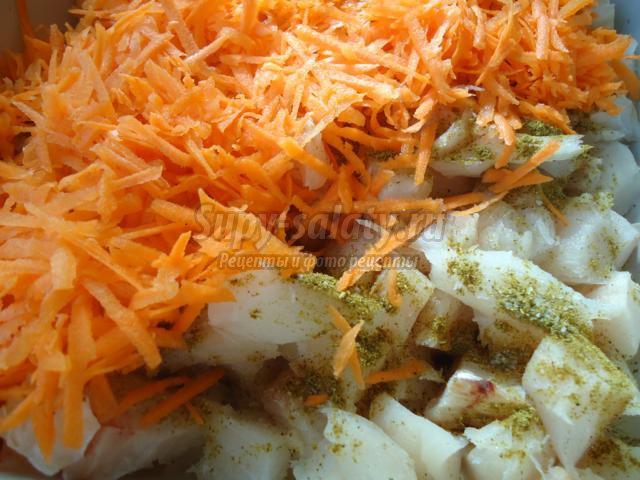 Морковные котлеты простые рецепты фото  Блюда из овощей