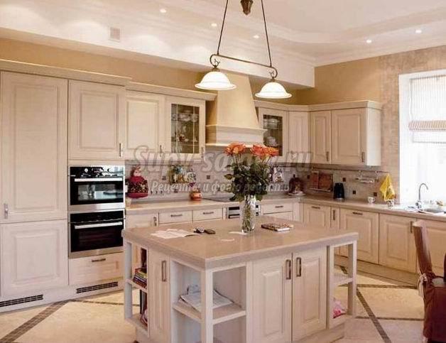 Особенности интерьера классической кухни