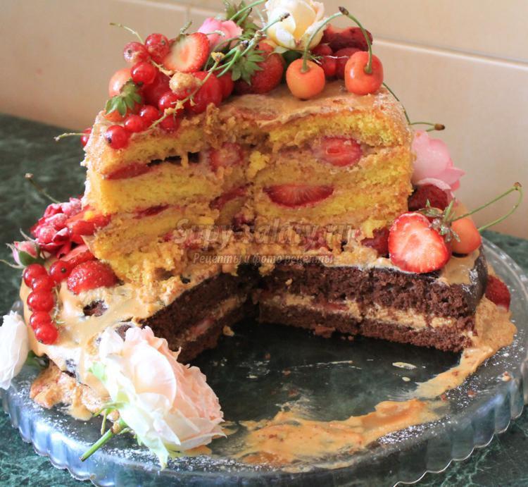 двухъярусный торт с мастикой рецепт