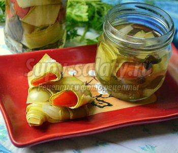 рулетики из кабачков рецепты на зиму