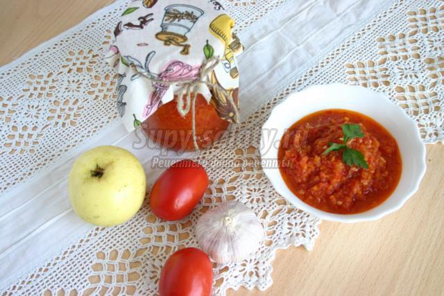 Аджика классическая рецепт с пошаговый