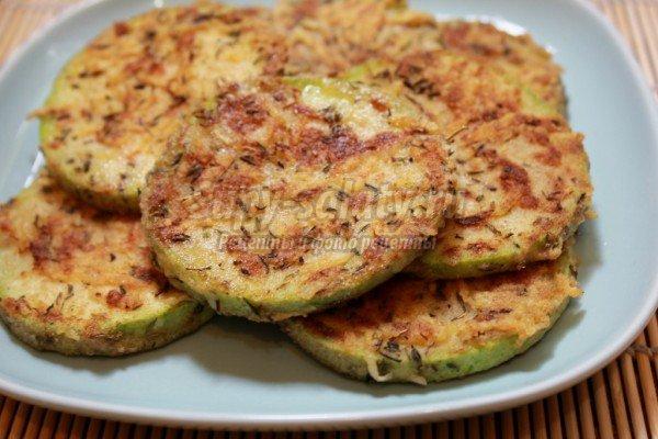 жареные кабачки: лучшие рецепты с фото