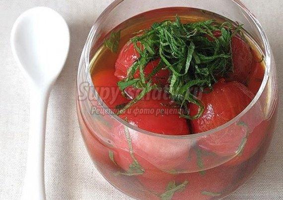 Сладкие помидоры на зиму. Рецепты с фото.