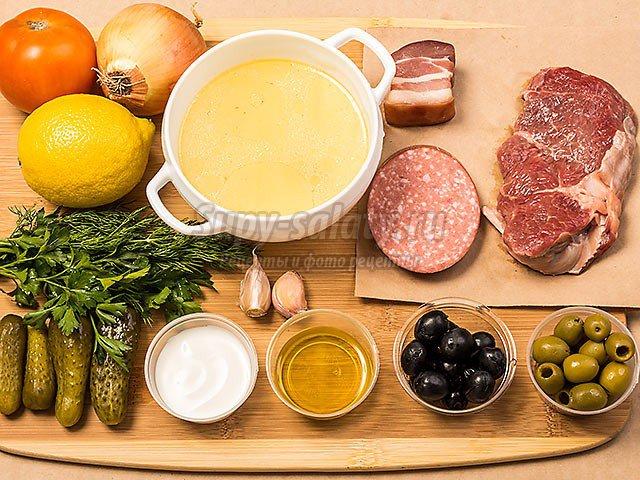 солянка классическая: вкусные рецепты с фото