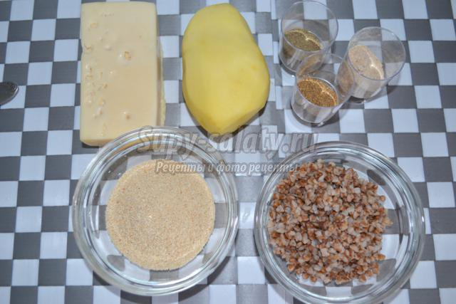 гречневые котлеты с картофелем рецепт с фото