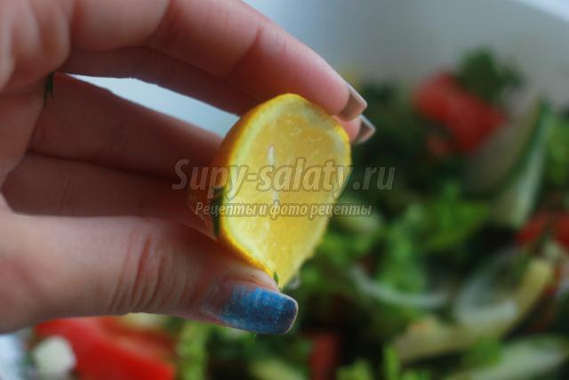 салат диетический рецепт