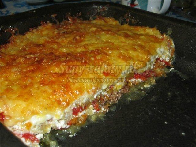 рецепты пиццы из кабачков с фото