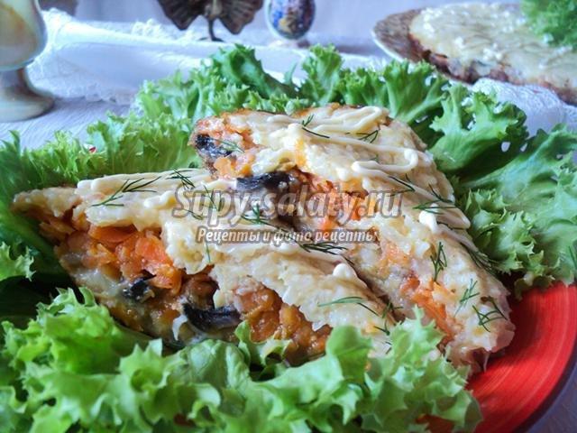 Блюда из спагетти рецепты с фото