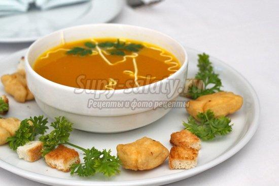 """Куриный суп """"Рыжик"""" с жареной вермишелью – кулинарный рецепт"""
