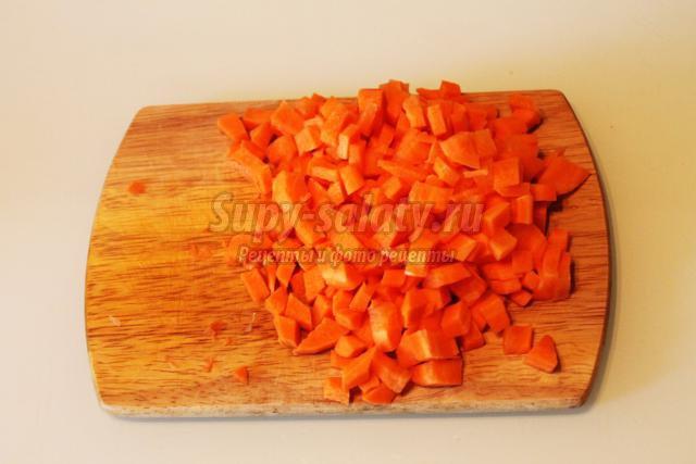 куриное филе, фаршированное овощами