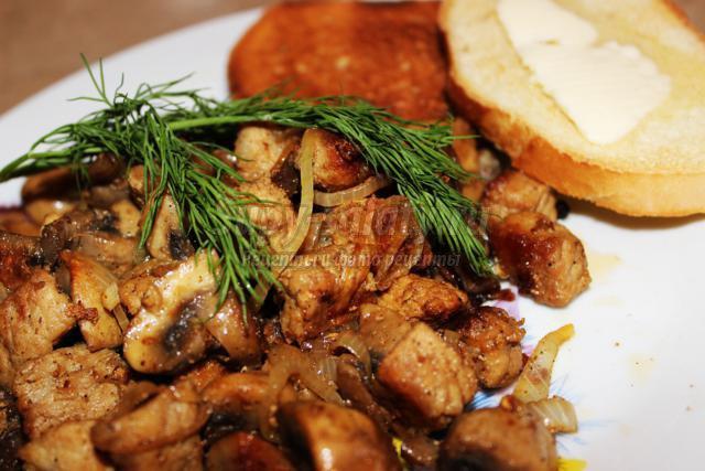 жареное мясо в духовке фото рецепт