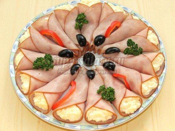 Рецепты простые закуски к праздничному столу рецепты с пошагово