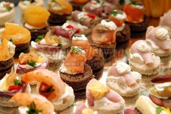 простые закуски: популярные рецепты с фото
