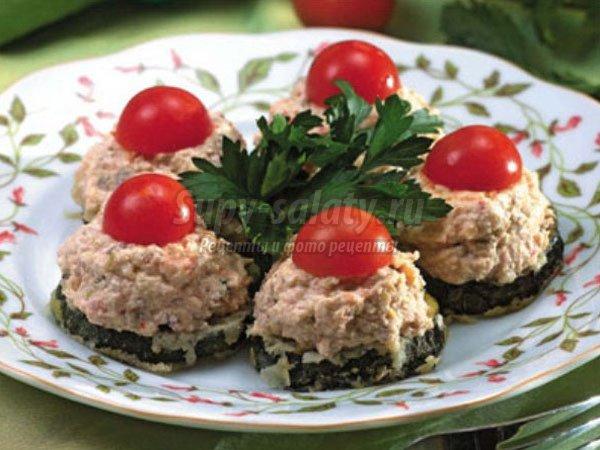 закуска из кабачков: популярные рецепты с фото