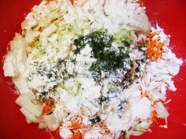 котлеты из кабачка и моркови
