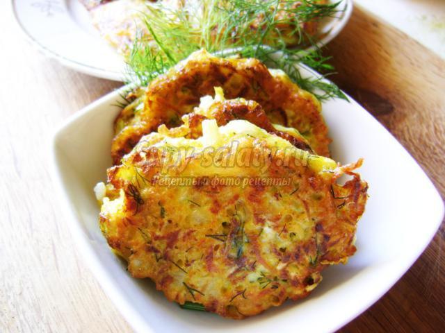 котлеты из гречки и кабачка рецепт