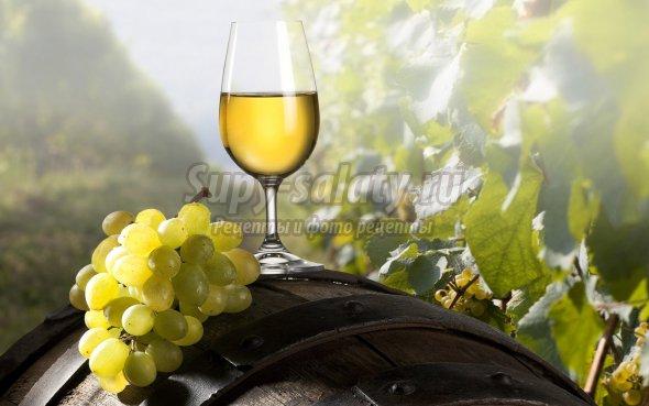 Вино из белого винограда: особенности приготовления