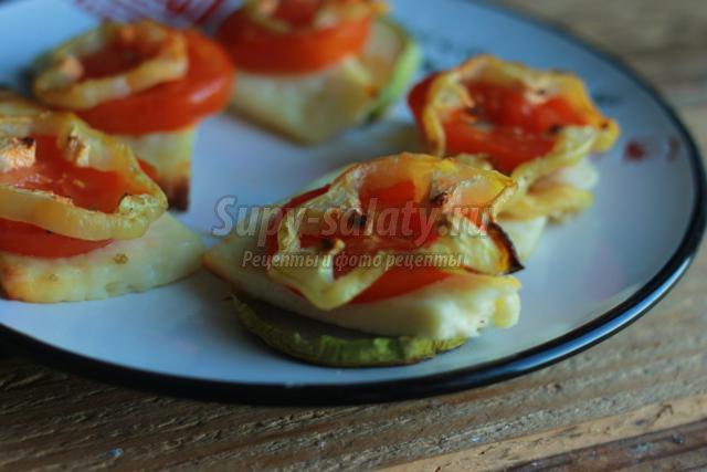 запеченные овощи с сыром в духовке