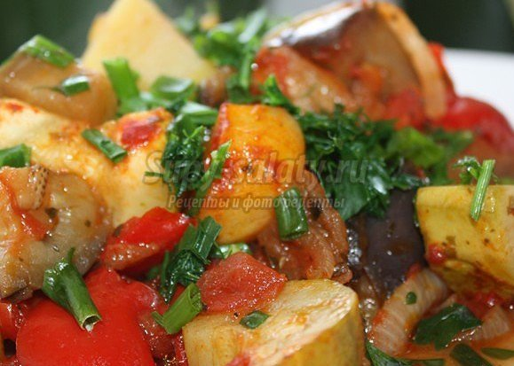 блюда из кабачков картошки капусты