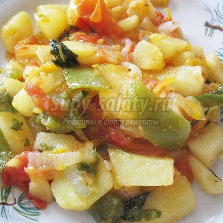кабачки с картошкой: популярные рецепты с фото