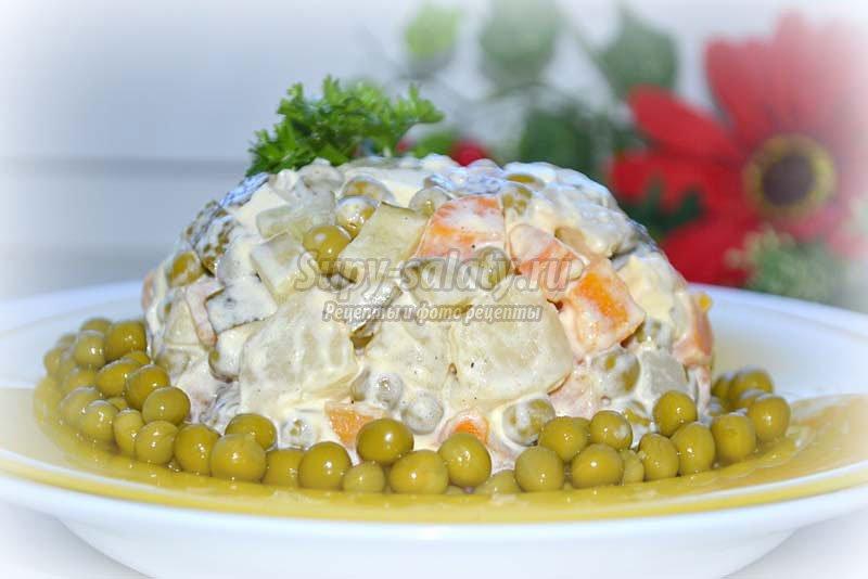 вегетарианские блюда салаты