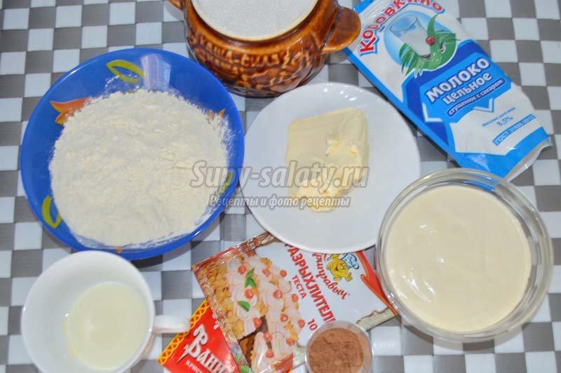пирог птичье молоко