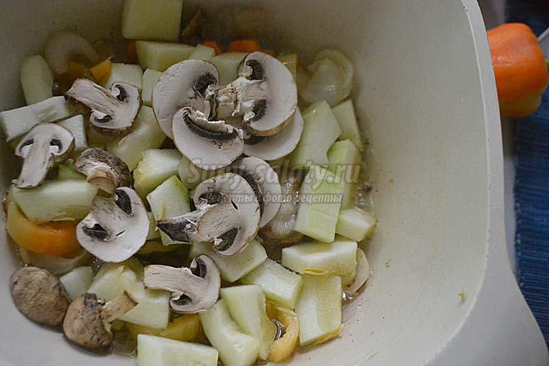 судак +с овощами рецепт