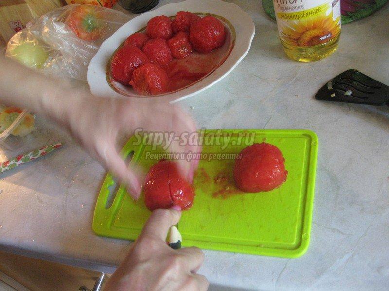 рецепт закуски с баклажанами