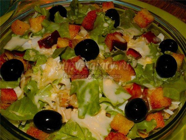 Салаты с сыром: рецепты для праздничного стола