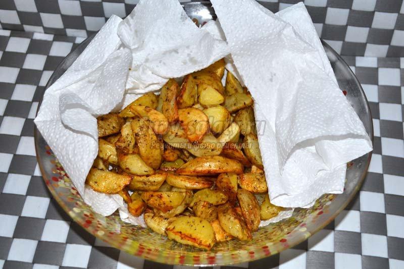 рецепт запеченного молодого картофеля в духовке