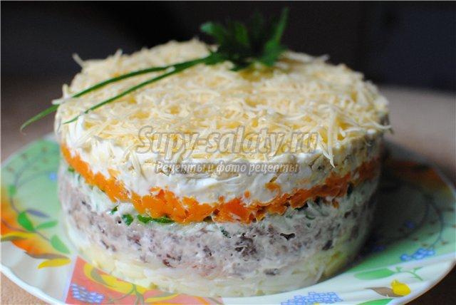 вкусно салат мимоза рецепт