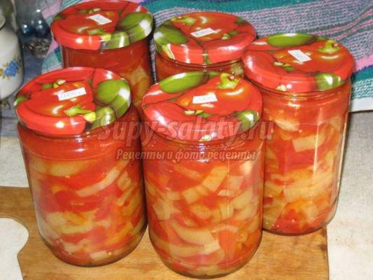 зимний салат из помидоров: популярные рецепты с фото