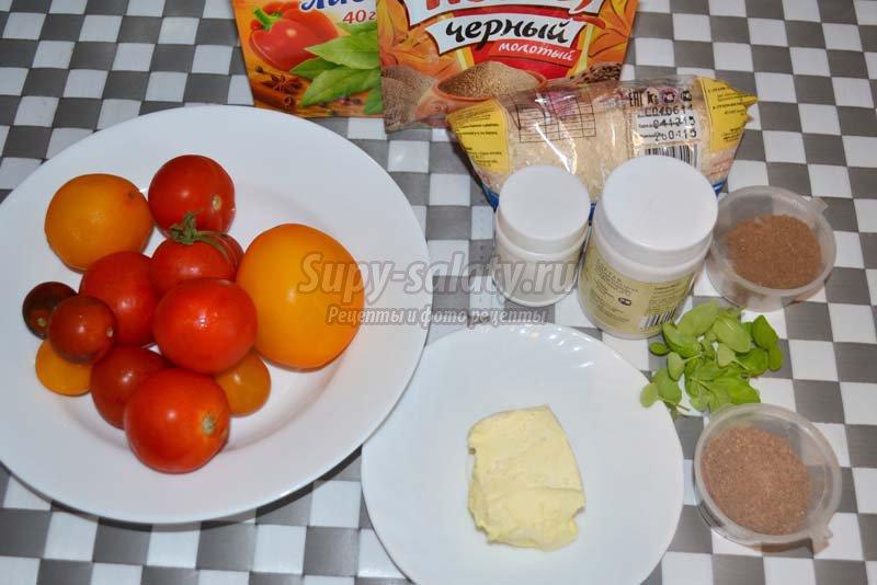 суп с томатом и рисом