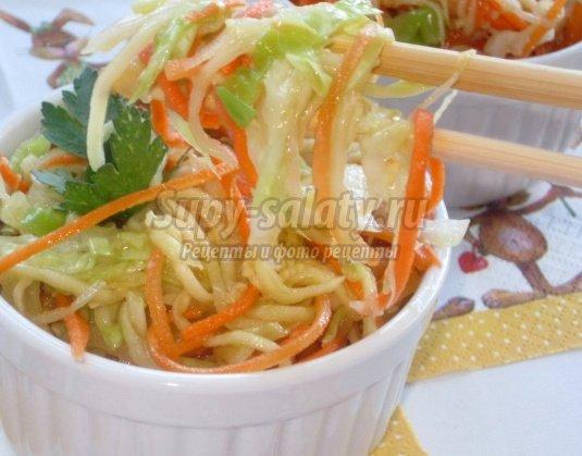 Кабачки по- корейски: рецепты с фото.