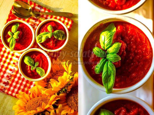 Томатный суп: золотые рецепты с фото
