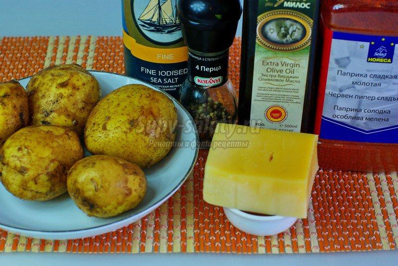 рецепт запеченной картошки