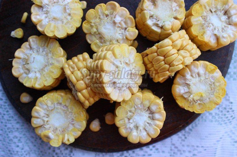рецепт отварной кукурузы