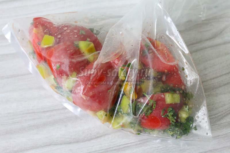 помидоры по корейски вкусный рецепт