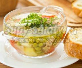 зеленый суп: ТОП-10 рецептов.