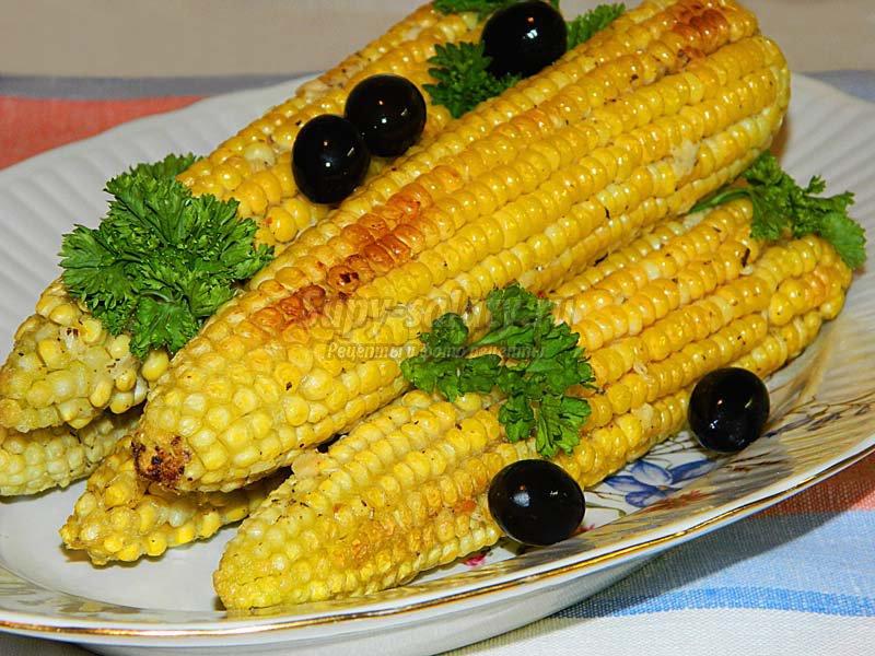 кукуруза запеченная в фольге в духовке